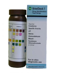 UrineCHECK 7 Adulterant Tests